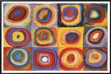 Farbstudie Quadrate, c.1913 Prints by Wassily Kandinsky
