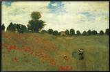 Poppies Prints by Claude Monet