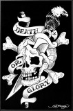 Death Or Glory Prints by Ed Hardy