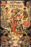 Japanese Tattoo Posters by Ed Hardy