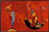 Mit Und Gegen Posters by Wassily Kandinsky