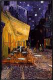 The Caf&#233; Terrace on the Place du Forum, Arles, at Night, c.1888 Prints by Vincent van Gogh