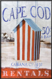 Cape Cod Cabana Pôsters por Robert Downs