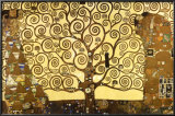 The Tree of Life Print by Gustav Klimt