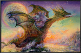 Dragon Ship Posters by Josephine Wall