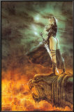 The Hour Has Arrived Poster by Luis Royo