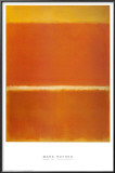 Saffron, 1957 Posters by Mark Rothko
