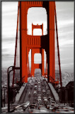 Golden Gate Bridge - San Francisco Poster