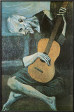 The Old Guitarist, c.1903 Photo by Pablo Picasso