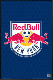 MLS New York Red Bulls Logo Print