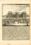 Parterre IV Premium Giclee Print by A. Poiteau