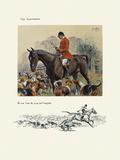The Hunts Man Premium Giclee Print by  Snaffles