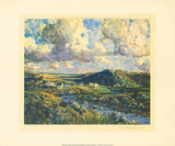Evening Sunlight In The Rosses Premium Giclee Print by James Humbert Craig