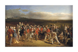 The Golfers Premium Giclee Print by Charles Lees