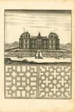 Parterre III Premium Giclee Print by A. Poiteau