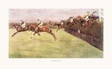 Bechers Brook Premium Giclee Print by Cecil Aldin