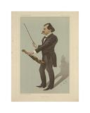 Eduard Strauss Premium Giclee Print by Carlo Pellegrini
