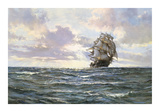 The Silvered Way Premium Giclee Print by Montague Dawson