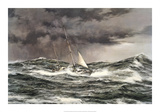 Horn Abeam, Sir Francis Chichester's Yacht, 'Gypsy Moth IV' Reproduction giclée Premium par Montague Dawson