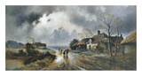 Calm After The Storm Premium Giclee Print by James Gozzard