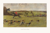 South Dorset Hunt Premium Giclee Print by Cecil Aldin