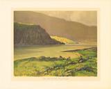 Silver Mist, Loch Finn Premium Giclee Print by James Humbert Craig