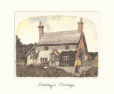 Shelley's Cottage Premium Giclee Print by Chad Coleman