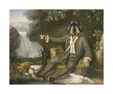 La Chasse II Premium Giclee Print by Thierry Poncelet