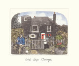 Old Ship Cottage Premium Giclee Print by Chad Coleman