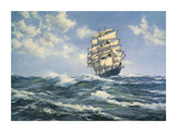 Breaking out the Royals Premium Giclee Print by Montague Dawson