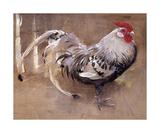The Spangled Cock Reproduction giclée Premium par Joseph Crawhall