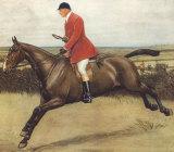 Huntsman Premium Giclee Print by Cecil Aldin