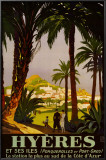 Hyeres Prints by Roger Broders
