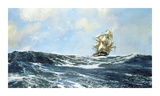 Cracking On! Premium Giclee Print by Montague Dawson