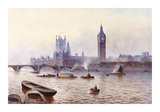 Houses Of Parliament Premium Giclee Print by James Gozzard