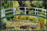 Le Pont Japonais a Giverny Prints by Claude Monet