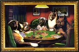 Dogs Playing Poker Prints