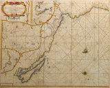 Chili, Peru, Hispania Nova, Nova Grenada, en California, 1659 Premium Giclee Print by Hendrick Doncker