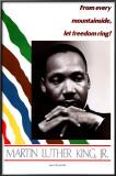 "Martin Luther King, Jr. ""Let Freedom Ring"" Framed Poster"