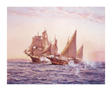 The Corsair Premium Giclee Print by Montague Dawson