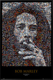 Bob Marley Mosaic Prints