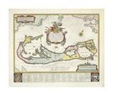 Bermuda, 1630 Premium Giclee Print by  Blaeu
