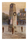 The Memorial To Our Glorious Dead Premium Giclee Print by James Gozzard