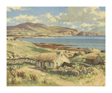 Donegal Bay Premium Giclee Print by Maurice Wilks
