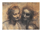 The Virgin And Child Premium Giclee Print by  Leonardo da Vinci