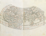 World Map, 1511 Premium Giclee Print by Claudius Ptolemy