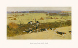 Gone Away from Bailby Wood Premium Giclee Print by Cecil Aldin