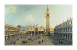 Piazza San Marco Premium Giclee Print by  Canaletto