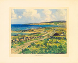 The Rosses Coast Premium Giclee Print by James Humbert Craig
