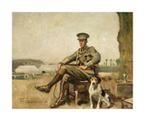 R.W. Sutherland, Cavalry Officer Premium Giclee Print by Sir Alfred Munnings
